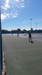 Court shot