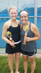 Women's Doubles Runners Up