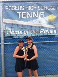 "Women's Doubles ""A"" Runners Up"