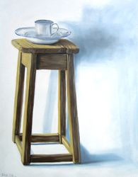 The Old Kitchen Stool