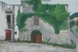 Ruin in Roccasecca