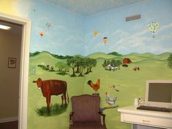 Doctor's Office Mural