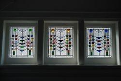 Frank Lloyd Wright trio