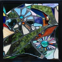 Mirror/glass mosaic