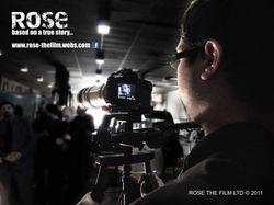 Production Stills on Set of Rose the Film.