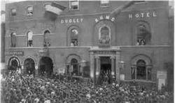 Nailors riots Dudley 1840