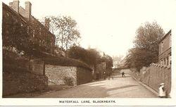 Waterfall Lane, Blackeath