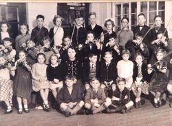 Doulton Rd School Violin Class 1952