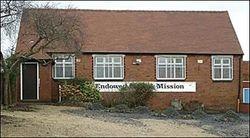 Endowed Mission hall in Rowley Village