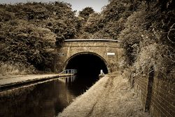 Entrance to Netherton Tunnel