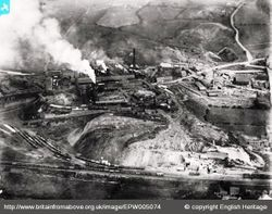 Old Hill Iron Works in 1920
