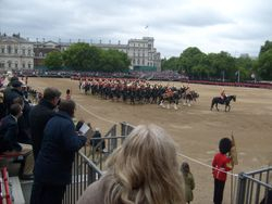 The Mounted Band.