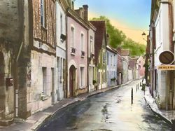 Road to Clos Luce