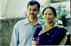 Me and my wife Ashwini