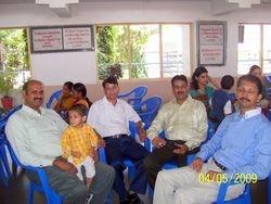 Sunil, Ajit, Pratap and Mulay ( L-R)