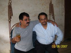Mangesh and Sachin