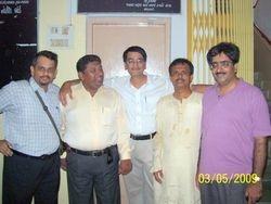 (L-R) Sachin, Kandarp, Hitesh, Satish and Vikas