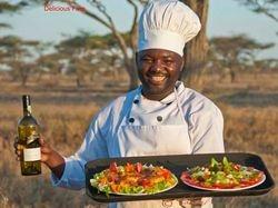 Chef at Camp Sematu