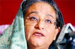 Prim Mininster Sakh Hasina Wajed