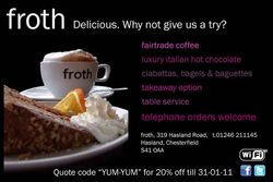 Discount Flyer - froth
