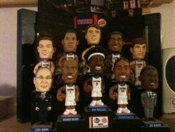 2004 Detroit Pistons Mini-Bobbleheads