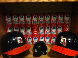 Complete set of 1984 Detroit Tigers Coca-Cola cans