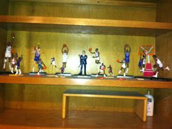 Detroit Pistons Flashback Friday Statues