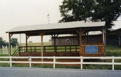 Handicap Viewing Stand/Judges Bench