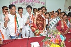 Victory of Sangram Jagtap