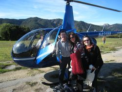 Crockett Family - Winners of helicopter ride