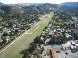 Santa & Mrs. Claus landing site- CV Airfield