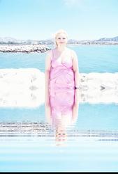 Sara's Pink Seascape