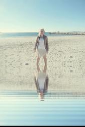 Les reflets sur l'eau