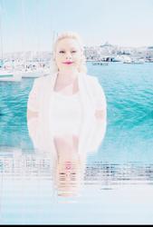 Sara by the Sparkling Sea Coast