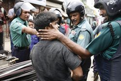 Bangladesh Police Action