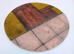 "14"" round diorama base"