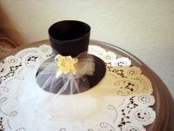 Bridal Top Hat with Veil wedding  Favor