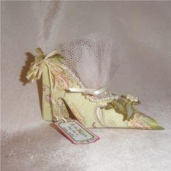 Miniture High Heel Shoe Favor Gift Box