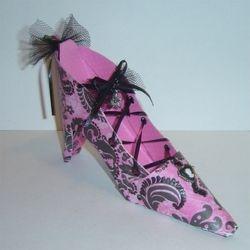 """Wicked"" Style  High Heel Shoe decor"