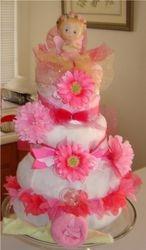 3 teir diaper cake