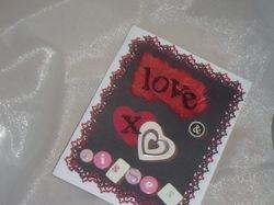 Love & Kisses Valentine Card