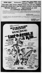 1982 - The Impossible Kid (Liwiw Films International)