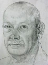 Portrait of my husband's uncle