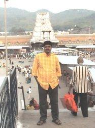 In Tirumalai Tirupathi, 6th May 2007