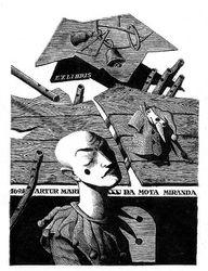 Ex libris Artur Mario Da Mota Miranda