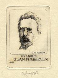 Ex libris Jan Rhebergen