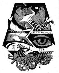 Ex libris K.Kalinovich
