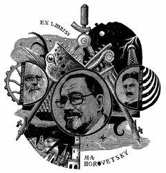 Ex libris M.A.Horovetsky
