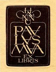 Ex libris Hanno Paalasmaa