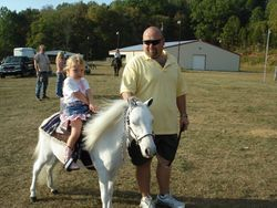 Daddy and Shelby Brooke ridin Little Bit